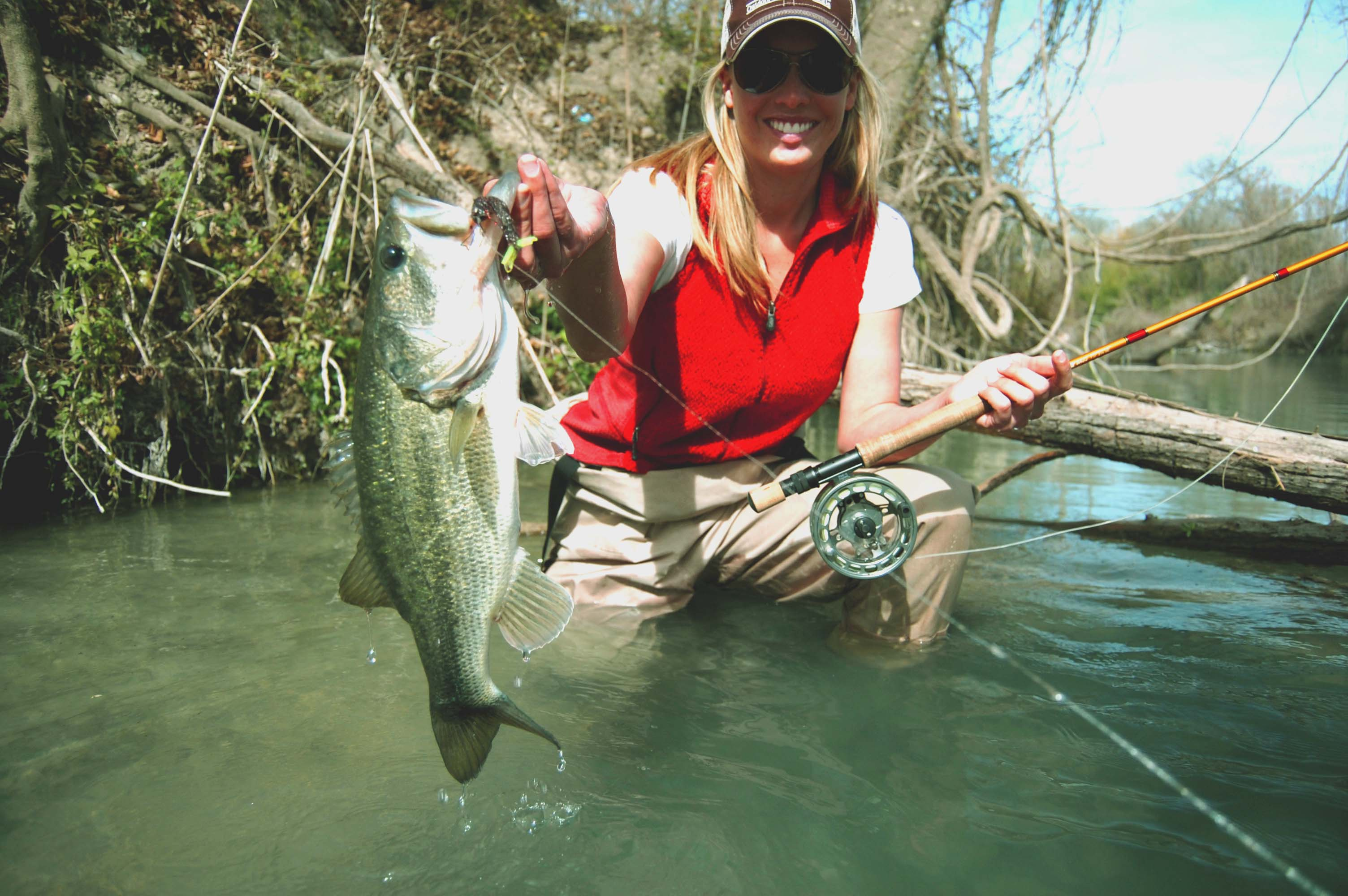 Guadalupe fishing guide fly fishing austin san antonio for Trout fishing in texas