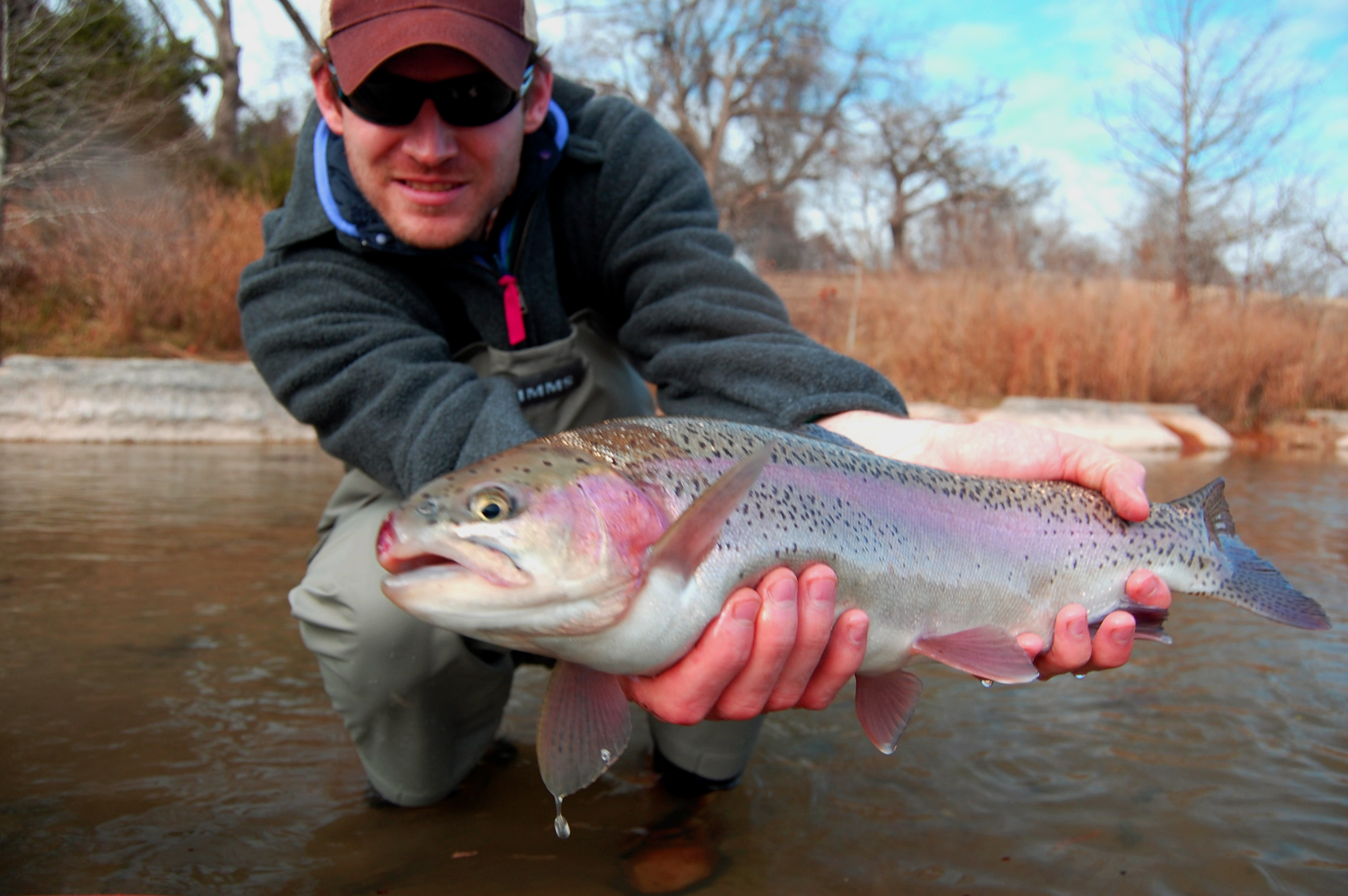 Guadalupe river fly fishing guides report and river conditio for Bass fishing in san antonio