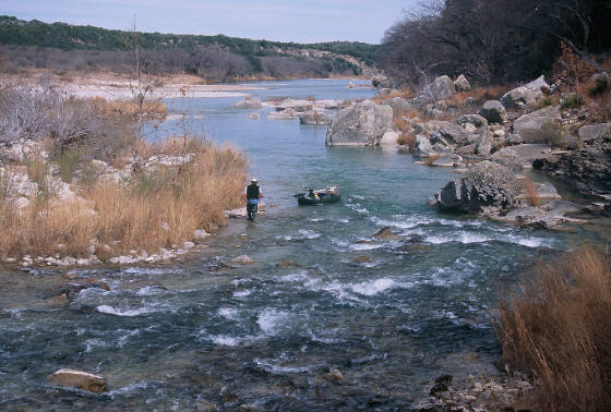 Austin san antonio fly fishing texas guide for Fly fishing austin texas