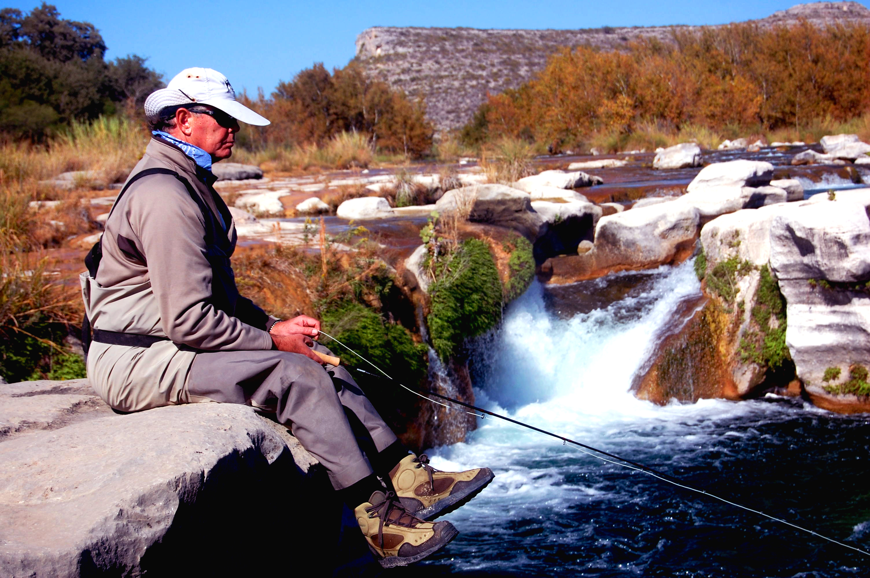 Fly fishing report austin san antonio guadalupe trout for Fishing report texas