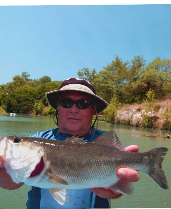 Guadalupe river fly fishing guide near austin san antonio for Trout fishing in texas