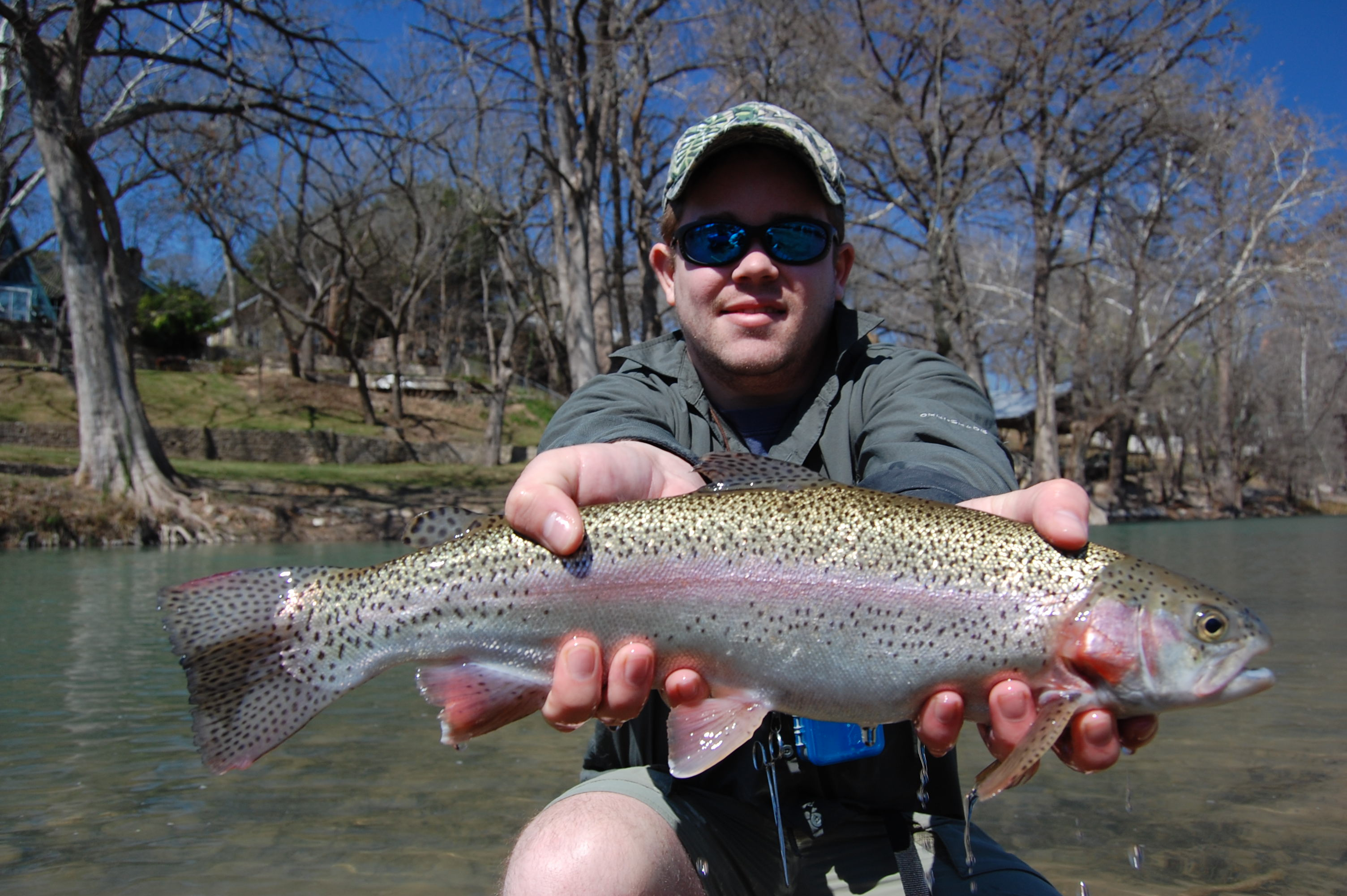 Fly fishing guide report archives for Trout fishing in texas