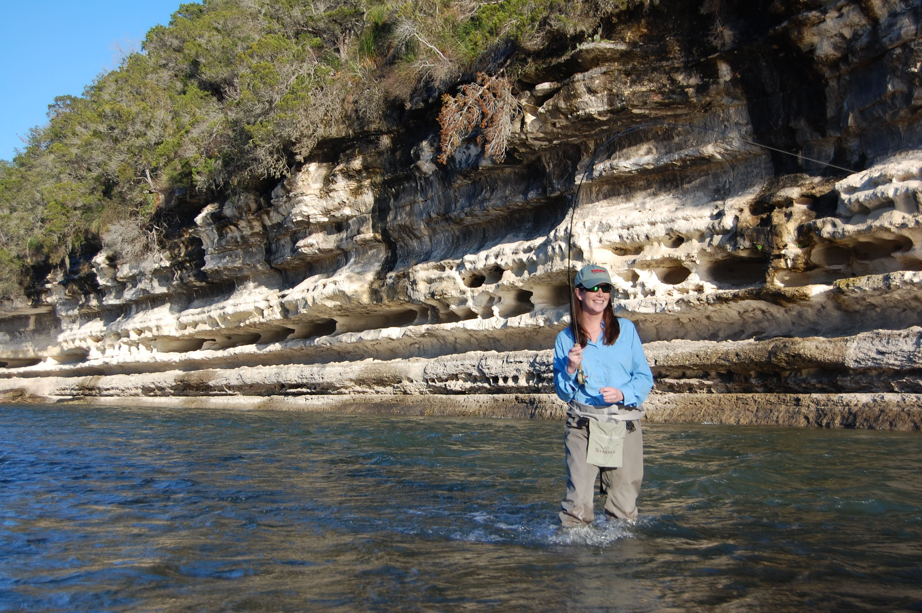 guadalupe fishing guide fly fishing austin san antonio